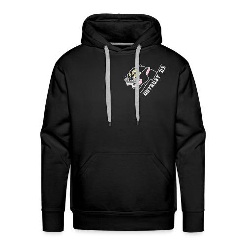 UNTRUST US Frontprint Panther Schwarz - Männer Premium Hoodie