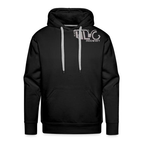 HLG machinery Gris - Sweat-shirt à capuche Premium pour hommes