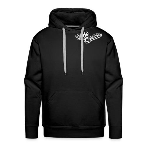 ohoh mono3 - Mannen Premium hoodie