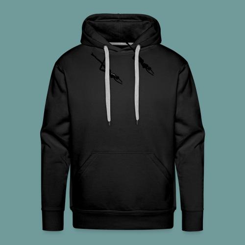 scubadiving_girl - Sweat-shirt à capuche Premium pour hommes