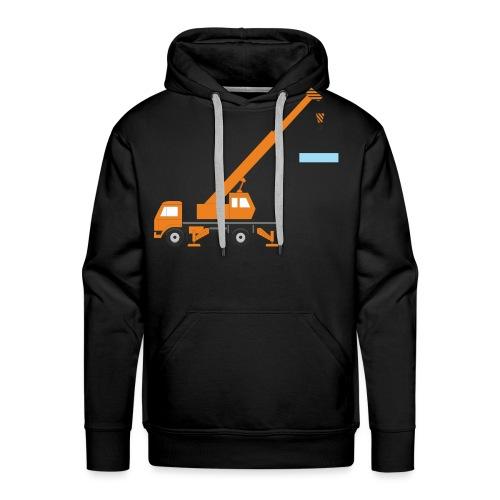 kranolina - Herre Premium hættetrøje