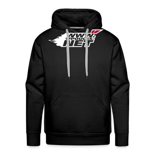 spreadshirt logo1 - Sweat-shirt à capuche Premium pour hommes