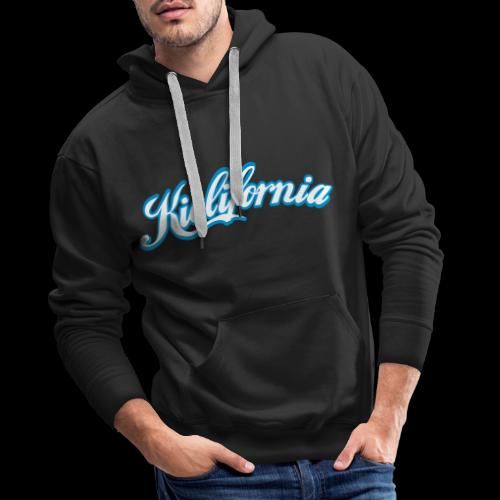 kielifornia mit kontur - Männer Premium Hoodie