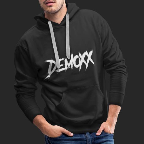 Demoxx White Design - Sweat-shirt à capuche Premium pour hommes