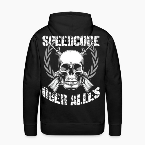 Speedcore Über Alles - Men's Premium Hoodie