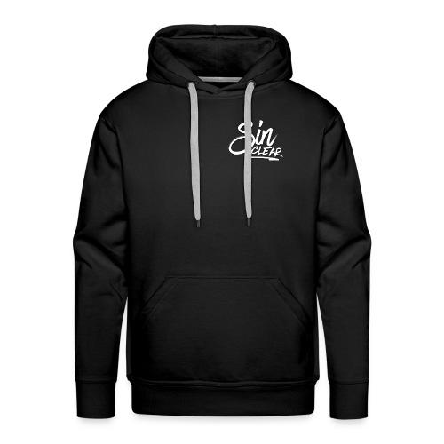 Sinclear Logo Weiß 🏳 - Männer Premium Hoodie