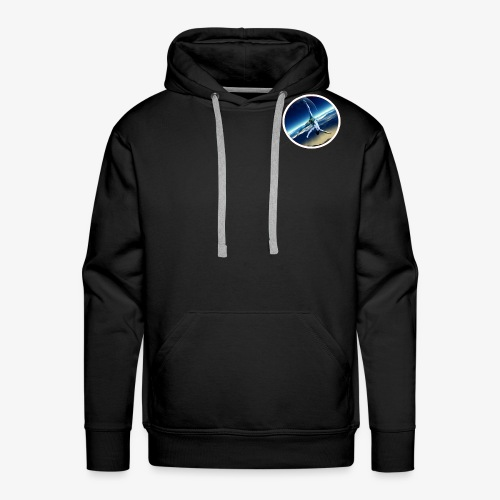 Space Flip - Sweat-shirt à capuche Premium pour hommes