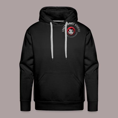 CMS Weiss Rot shirt png - Männer Premium Hoodie