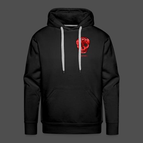 Skull Roses - Bluza męska Premium z kapturem