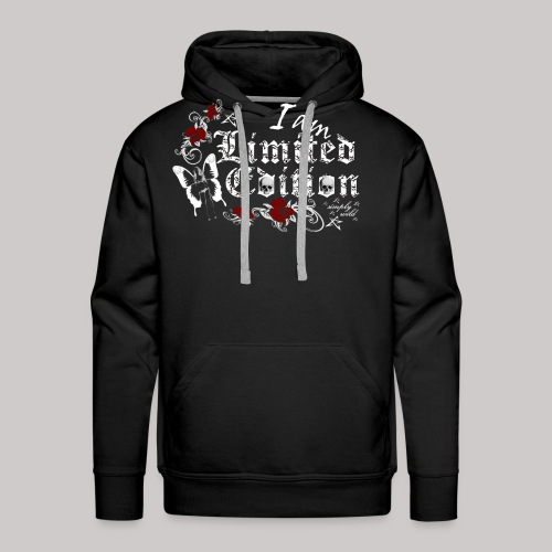 simply wild limited edition on black - Männer Premium Hoodie