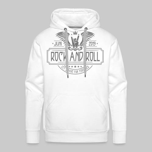 Rock and Roll - Männer Premium Hoodie