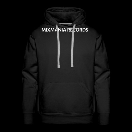 MIXMANIA RECORDS WHITE - Men's Premium Hoodie