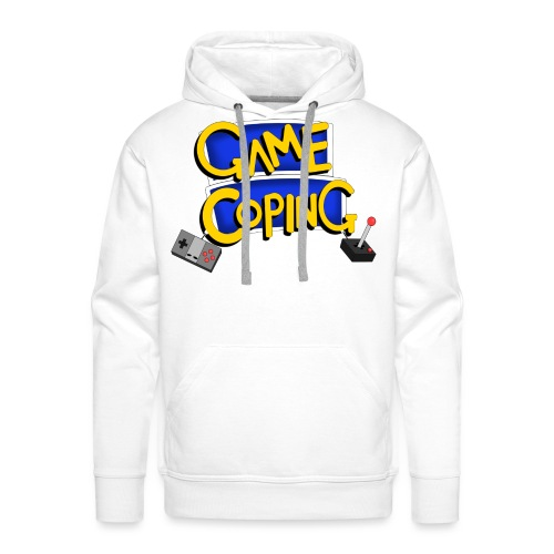 Game Coping Logo - Men's Premium Hoodie
