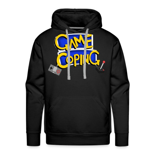 Game Coping Logo - Men's Premium Hoodie