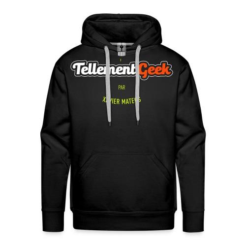 Tellement Geek Logo - Sweat-shirt à capuche Premium pour hommes