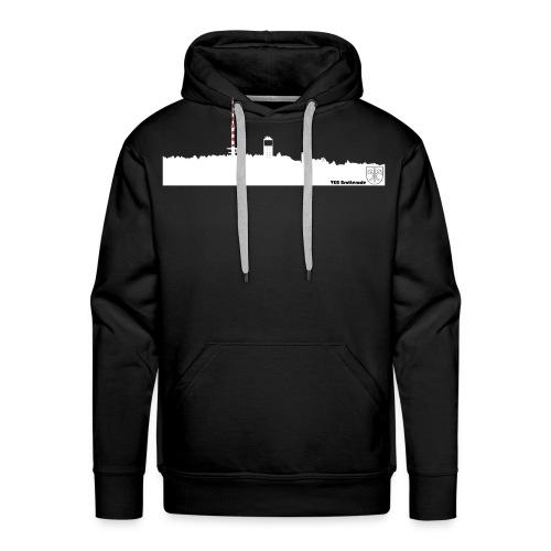 Skyline Inselsberg weiss - Männer Premium Hoodie