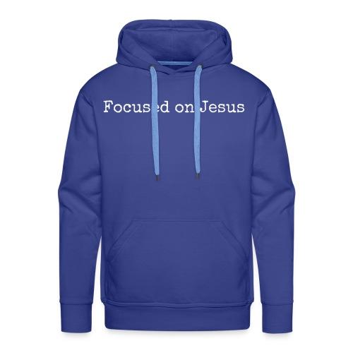 Focus on Jeusus - Männer Premium Hoodie