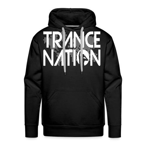 Trance Nation (White) - Premiumluvtröja herr