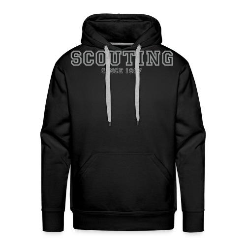 scouting since 1907 - Herre Premium hættetrøje