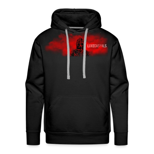 LuxeCasuals #1 Black - Mannen Premium hoodie