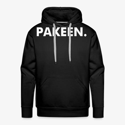 PAKEEN. Zwart - Mannen Premium hoodie