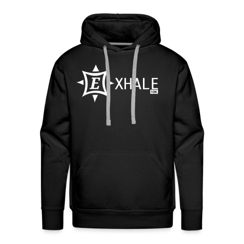Exhale 10K Black - Men's Premium Hoodie