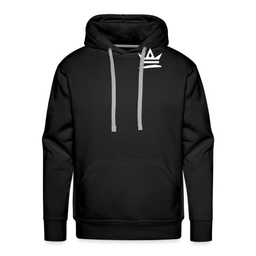 Royal Apparel Logo White - Men's Premium Hoodie