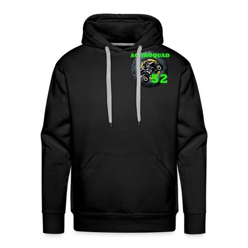 ACCROQUAD 52 - Sweat-shirt à capuche Premium pour hommes