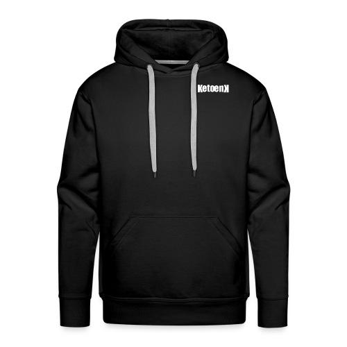 Ketoenk 2.2 Wit - Sweat-shirt à capuche Premium pour hommes