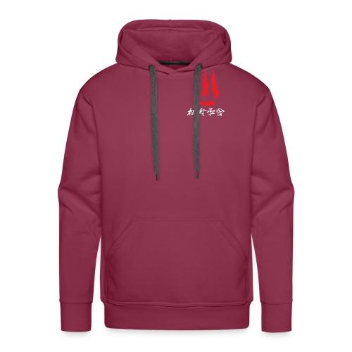 stort logo png - Herre Premium hættetrøje