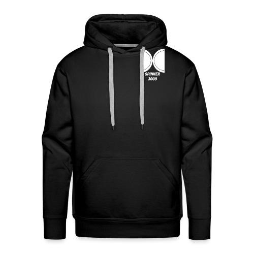 Light logo - Sweat-shirt à capuche Premium pour hommes