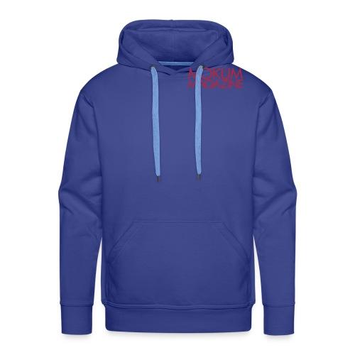 Mokum Magazine logo - Mannen Premium hoodie