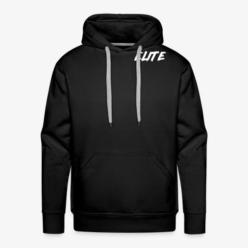 Elite-White - Men's Premium Hoodie