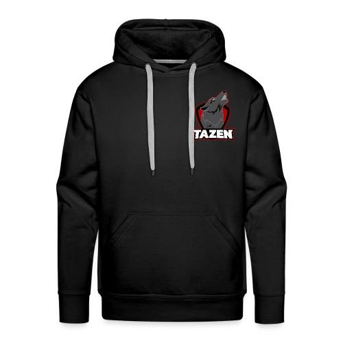 TazenOfficial Rød - Herre Premium hættetrøje