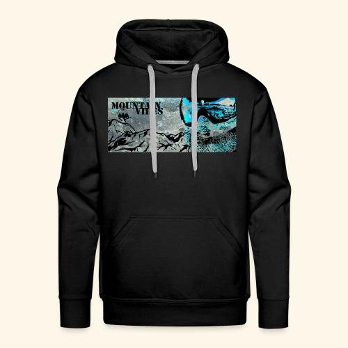 mountainvibes - Mannen Premium hoodie