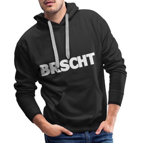 BRSCHT Wit - Sweat-shirt à capuche Premium pour hommes