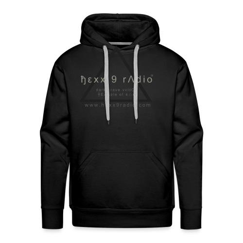 ђεƔƔ 9 radio tshirt - Men's Premium Hoodie