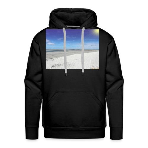 The Beach- La plage - Sweat-shirt à capuche Premium pour hommes