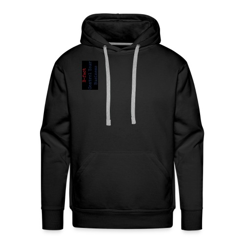 B fact Control Your Business 5 ZWART 2 - Mannen Premium hoodie