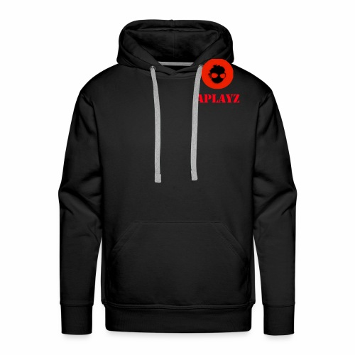 APlayzMG logo with text - Men's Premium Hoodie