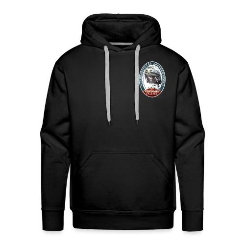 Logo avant + dos - Sweat-shirt à capuche Premium pour hommes