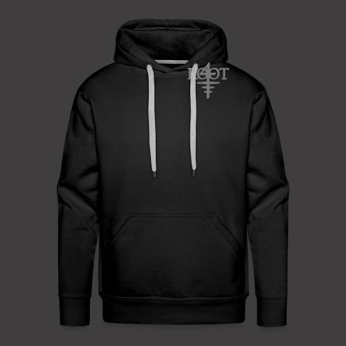 root4 logo weiss - Männer Premium Hoodie