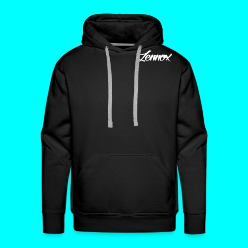 Zennox Signature White - Men's Premium Hoodie