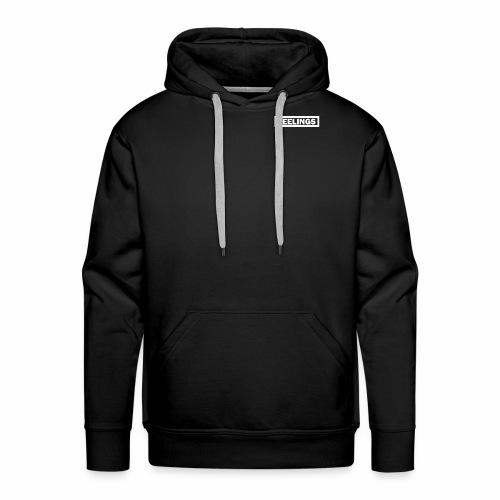 FEELINGS WHITE - Mannen Premium hoodie