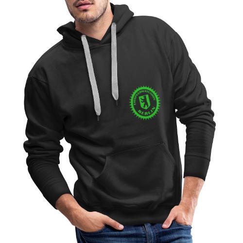 Logo klein ESU transp Green - Männer Premium Hoodie