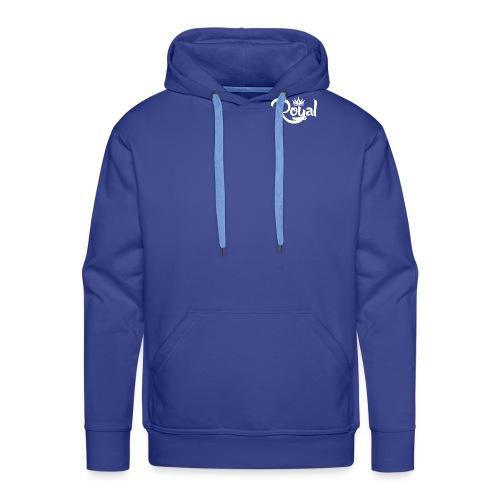 Royal Logo White Edition - Men's Premium Hoodie