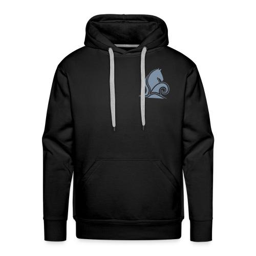 Skumrytter Logo, vorne und hinten - Männer Premium Hoodie