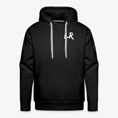LiamRusso Logo Wit - Mannen Premium hoodie