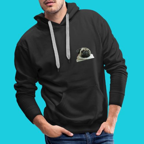 summer body pug - Men's Premium Hoodie