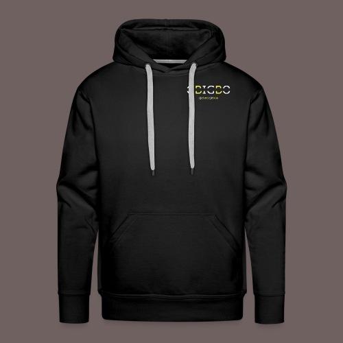 GBIGBO zjebeezjeboo - Retour à l'essentiel - Sweat-shirt à capuche Premium pour hommes